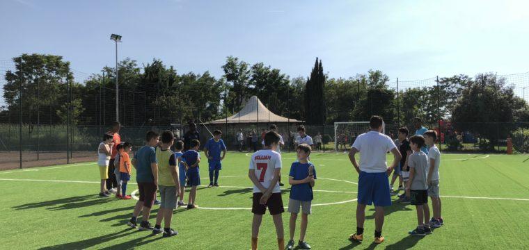 Inaugurazione del Campo di Calcio